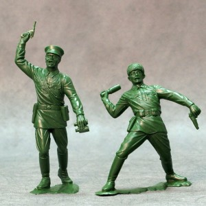 ARK 80006 -  Red Army set #3 2 figurki 15cm