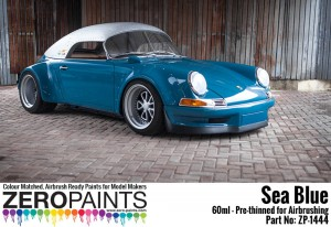 ZERO PAINTS 1444 - Sea Blue Porsche 60ml