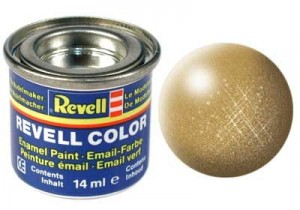 REVELL 32194 - FARBA EMAIL 94 Gold Metalizer