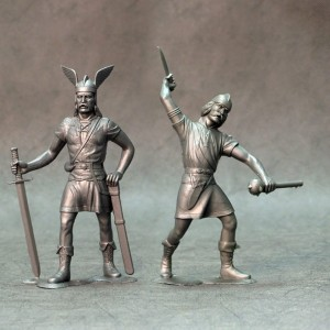 ARK 80008 - Barbarians set #2 2 figurki 15cm