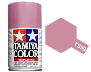 TAMIYA 85059 - FARBA SPRAY TS-59 Pearl Light Red