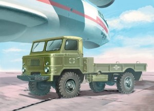 EE 35133 - 1/35 GAZ-66V Russian airborne military