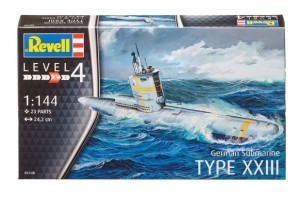 REVELL 05140 - 1/144 GERMAN SUBMARINE TYPE XXIII