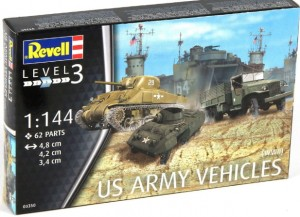 REVELL 03350 - 1/144 US ARMY VEHICLES WWII