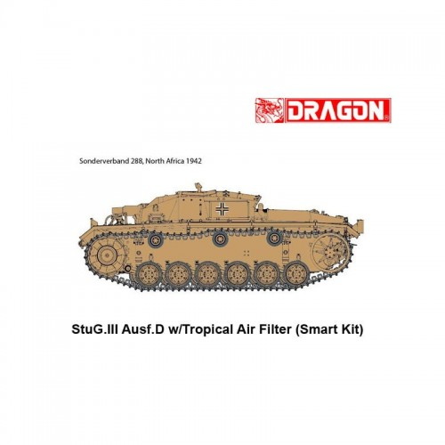 Dragon 6905 1/35 STUG.III Ausf.D w/Air Filter