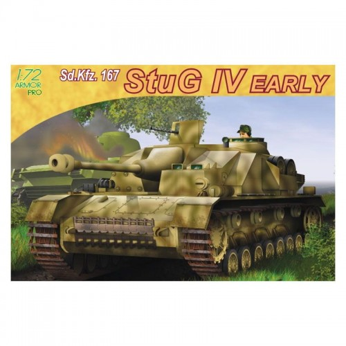 Dragon 7235 1/72  Stug IV Early