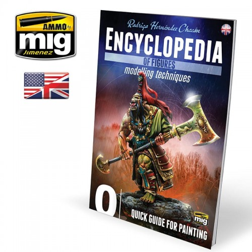 AMMO MIG ENCYCLOPEDIA OF FIGURES VOL.0 (English)-13276