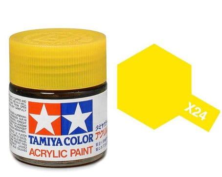 Tamiya 81524 Farba Akrylowa X 24 Clear Yellow 10ml Emodele Net Sklep