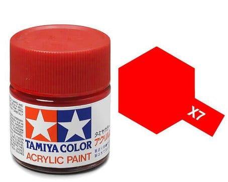 Tamiya 81507 Farba Akrylowa X 7 Red 10ml Emodele Net Sklep Dla